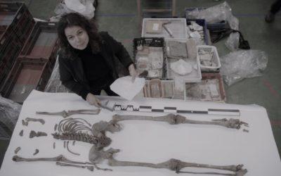 Skeletonderzoek naar Franse soldaten